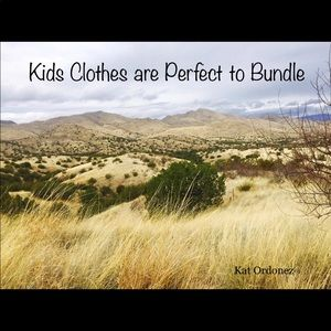 Kids Clothes Are Perfect To Bundle